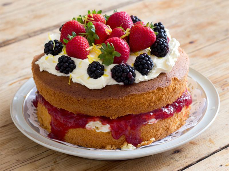 一般蛋糕有精緻澱粉、高糖分